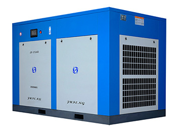 Two Stage Air Compressor, Oil-injected Rotary Screw Compressor
